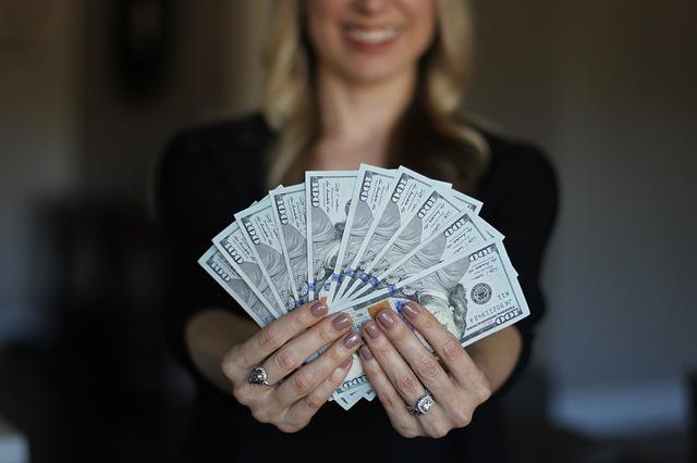 výhra v loterii