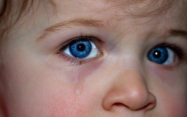dětské oči