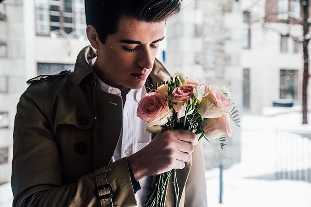romantický muž