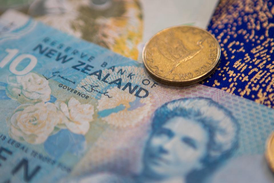 novozélandské dolary